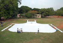 World's largest apron on display in Chennai
