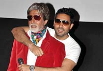 Big B turns 'item boy'