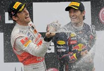 F1: Jenson Button wins Canadian Grand Prix