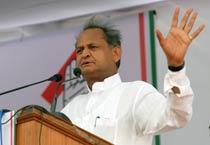 Ashok Gehlot addresses Congress rally in Jaipur