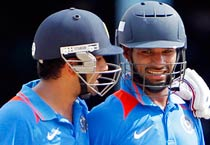 India beat West Indies by four wickets in first ODI