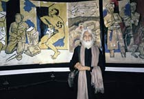 MF Husain through the years