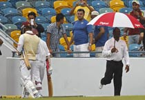 Ind vs WI 2nd Test: Rain plays spoilsport after Ishant's double