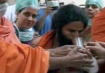 Baba Ramdev ends fast against black money