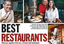 Delhi's top 10 restaurants