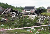 Forty-four killed as plane crashes in Russia