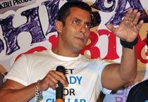 Salman promotes 'Chillar Party'