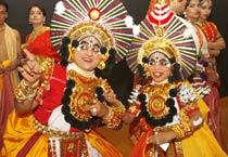 Artists at Mohan Khokar Dance collection