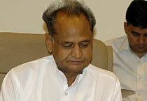 Rajasthan: Gehlot attends Jila Pramukh Sammelan