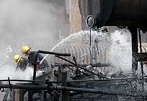 Fire breaks out at Delhi power plant