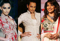 Hot Bollywood celebs at Couture Week
