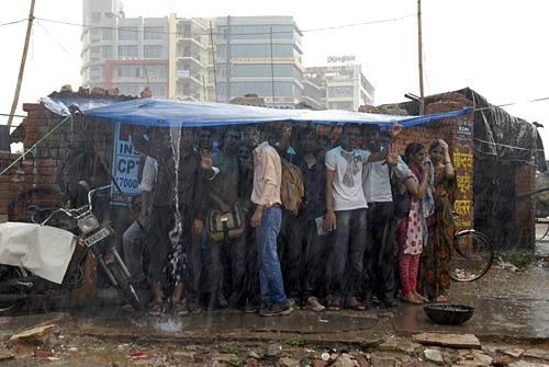 Rain lashes Jaipur