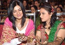 Stars at Dr Shefali's wedding