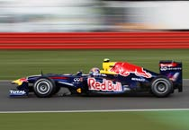 Webber grabs pole at British GP