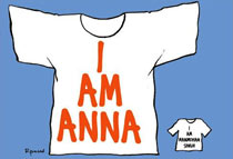 Anna Hazare stir: In cartoons