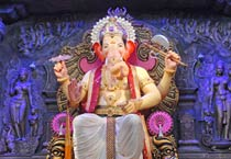 First look of Lalbaugcha Raja
