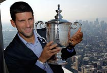 Djokovic rising