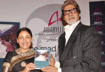Big B launches Deepti Naval's book