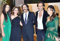 Wedding reception of Boman Irani's son