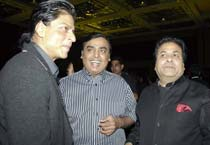 Celebs at Rajeev Shukla's party