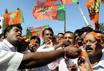 Yeddyurappa walks out of jail