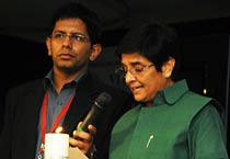 Kiran Bedi takes <em>India Today</em>'s anti-corruption pledge