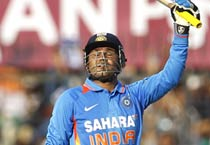 Sehwag hits double ton in ODI