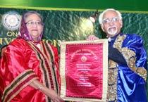 Bangladesh PM Sheikh Hasina visits Tripura