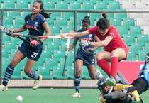 Women's Hockey: India whitewash Azerbaijan