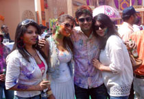 Stars get naughty in Holi bash