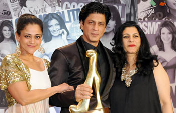 (From left to right) Kalie Puri, Shah Rukh Khan and Mala Shekri