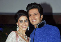 Genelia-Riteish sangeet ceremony