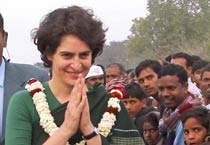 UP polls: Priyanka on a campaign spree