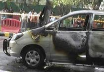 Explosion in Israeli Embassy car in Delhi