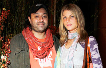 Vikram Chatwal and Angela Lindvall