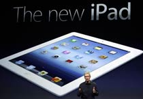 Apple unveils faster new iPad