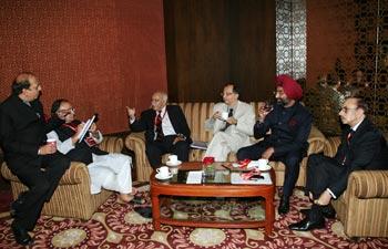 Dinesh Trivedi, Arun Jaitley, M.J. Akbar, Kaushik Basu, Malvinder Singh and Adi Godrej
