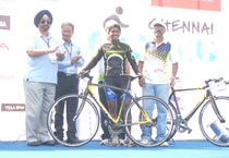 BSA Hercules Chennai Cycling race