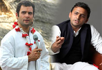 Rahul vs Akhilesh in UP polls