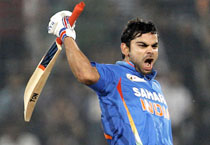 Virat Kohli hits a ton against Pak