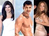 Priyanka Chopra. John Abraham and Jennifer Lopez