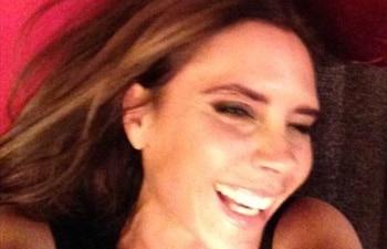 David Beckham tweets Victoria's rare image
