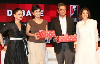 Kalli Purie, Kirthiga Reddy, Rajan Anandan and Rekha Purie
