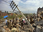 factory collapses in jalandhar, jalandhar building collapse, building collapses in jalandhar, building collapse