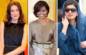 Fashionable female politicains
