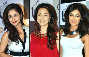 Urmila Matondkar, Juhi Chawla and Chitrangada Singh