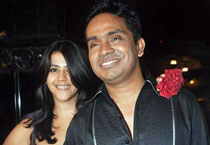 Mushtaq Sheikh and Ekta Kapoor