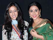 Vidya Balan, Raima Sen at Parineeta screening
