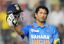 Sachin's birthday special: The master's 40th year in photos