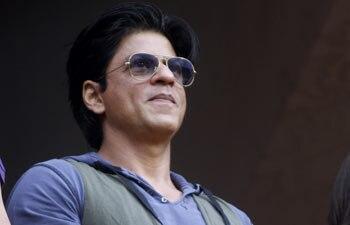 Bollywood actor and Kolkata Knight Riders team owner Shahrukh Khan
